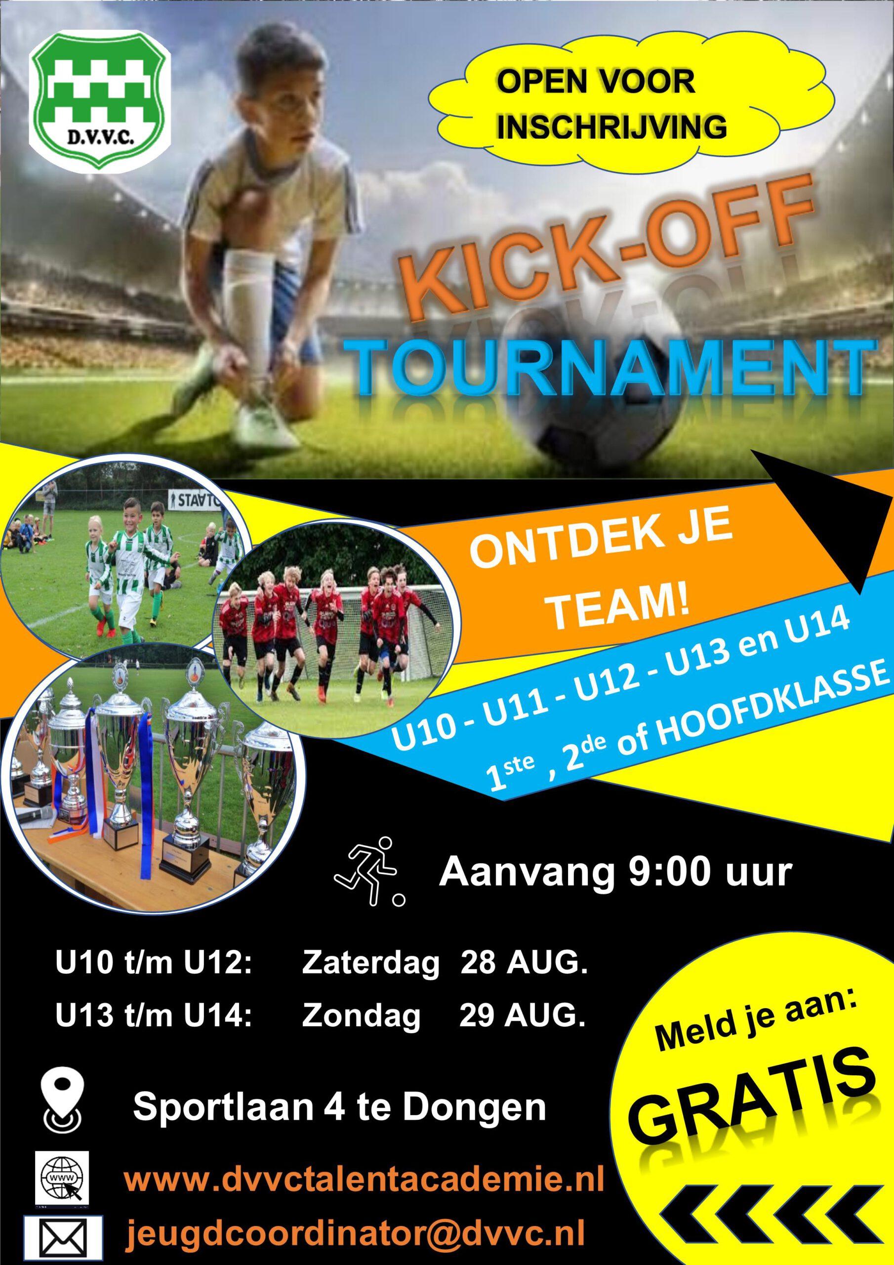 KICK Off tournament